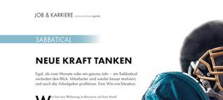 Neue Kraft tanken - Sabbatical für Unternehmensjuristen