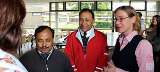 Gäste aus Nepal in der Gesamtschule Nordkirchen