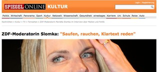 Interview mit Marietta Slomka