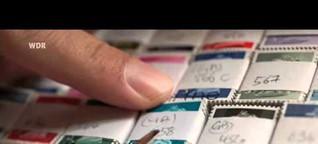Lokalzeit aus Köln  Royale Briefmarkenkunst - Rainer Spandel macht Briefmarken zu Kunstobjekten
