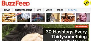 torial Blog | Omg, wtf, LOL: Der Buzzfeed-Hype