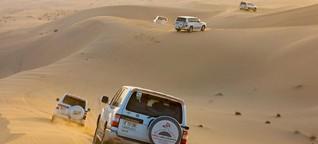 Abu Dhabi: Wo die Wüste richtig brummt