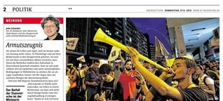 Massenproteste in Brasilien - ein Blick ins Land