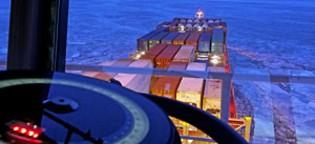 Es knirscht und kracht: Unterwegs mit dem Containerschiff