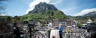 Schweiz aktuell extra - Landsgemeinde Glarus - konradweber.ch