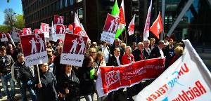 Gewerkschaften fordern mehr soziale Gerechtigkeit | Mittendrin | Das Nachrichtenmagazin für Hamburg-Mitte