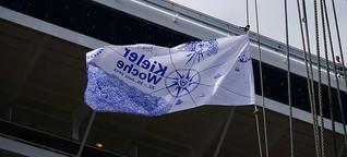 Windjammerparade bei der Kieler Woche 2013