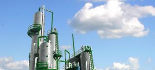Rohstoffe: Bioraffinerien machen Abfall zu Erdöl-Ersatz