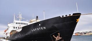 Auf der MS Lofoten von Kirkenes nach Trondheim