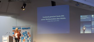 Keynote beim 1. Mobile Media Day