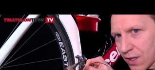 Schaltzüge verlegen beim Rennrad - so geht's
