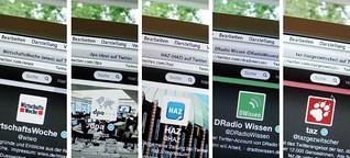Social Media Serie, Teil 2: Wie Redaktionen Twitter bespielen