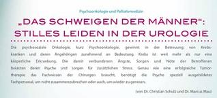 DER PRIVATARZT UROLOGIE 2/2014 - Titelthema: Psychoonkologie