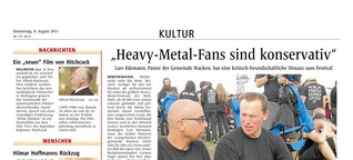 Wacken-Pastor im Interview