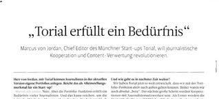 torial Presse: Medium Magazin