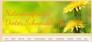 Naturheilpraxis Freiberg - Heilpraktiker Dieter Schneider, Freiberg
