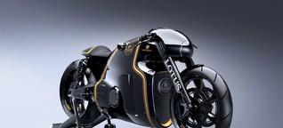 Motorräder von Caterham und Lotus: Schöne Grüße aus der Formel 1 - SPIEGEL ONLINE