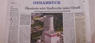 Stadtwerke Osnabrück setzen bei Kohlestrom zu