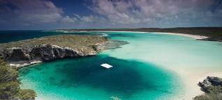 Die einsamsten Strände auf den Bahamas