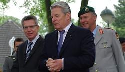 Joachim Gauck in der Bundeswehrführungsakademie Hamburg-Blankenese (Photo)
