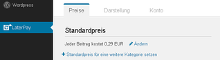 LaterPay: erste Einblicke ins WordPress-Plugin - Journalismus plus