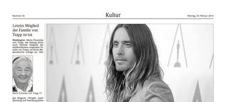Kultur – Jared Letos Chancen auf den Oscar