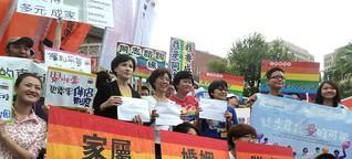 Die Vier-Personen-Beziehung: Taiwan strebt nach der Eherevolution
