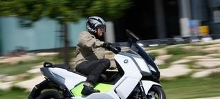 E-Roller BMW C evolution: Leise wieselt der E - SPIEGEL ONLINE