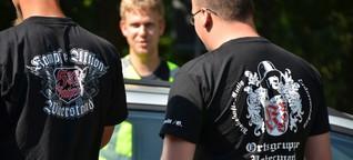 Rechtsextreme in Brandenburg: Neonazis machen sich Konkurrenz