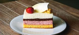Franz-Karl verführt mit Kuchen und Torten