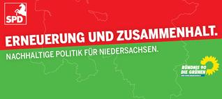 Niedersachsen: Netzpolitik-Check des rot-grünen Koalitionsvertrags