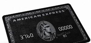 Die Schwarze American Express Card - der Ferrari unter den Kreditkarten