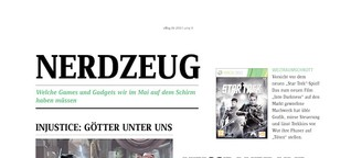 uMag - Kolumne - Nerdzeug (Juni 2013)
