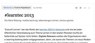 learntec 2013 via storify
