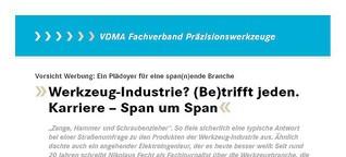 Karriere in der Werkzeugindustrie - Span um Span