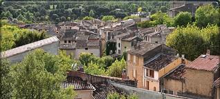 Alles grün: Ein Bio-Dorf in Frankreich