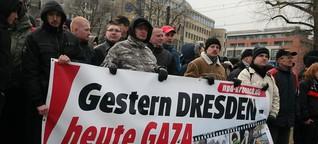 Warum Nazis mit Islamisten gegen Israel marschieren