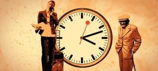 Wie empfinden wir Zeit? (Vertonung)