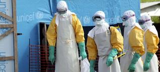 Warum Ebola nie nach Deutschland kommt