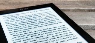 Amazon Kindle: Artikel aus dem Netz per Push versenden