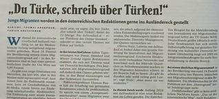 """""""Du Türke, schreib über Türken!"""""""