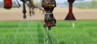 Beregnung - Was tun, wenn das Wasser knapp wird?