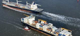 Containerschifffahrt - Halbe Kraft voraus