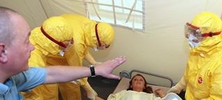 Ebolahilfe: Aufbruch ins Ungewisse