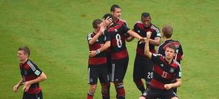 Datenanalyse: Die Tor-Formel zum deutschen WM-Erfolg | SPIEGEL ONLINE