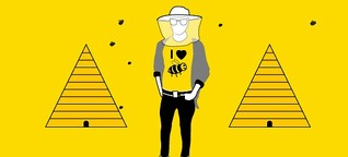 Imkern in der Stadt: Biene gut, alles gut | BR.de