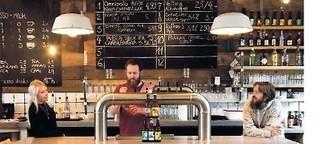 Craft Beer und Shuffleboard