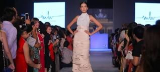 Wiener Mode in Indien: Botschaft in Leder