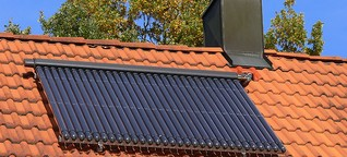 Umweltfreundliche Energie für Zuhause