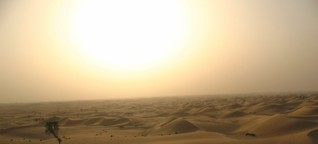 A desert stopover in Abu Dhabi